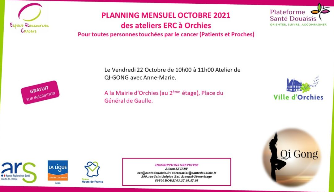 planning Orchies Octobre 2021